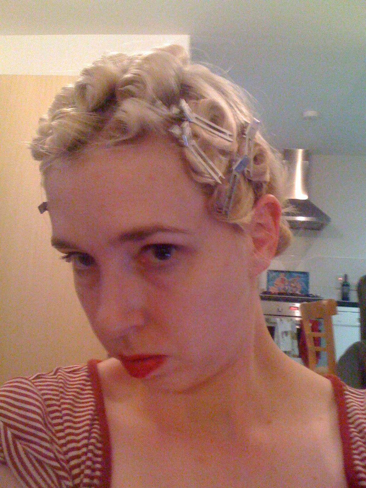 Pin Curl Diagram Husqvarna Lawn Mower Parts Snoodlebug Hair Set Quotglamorous Casual Quot Curls