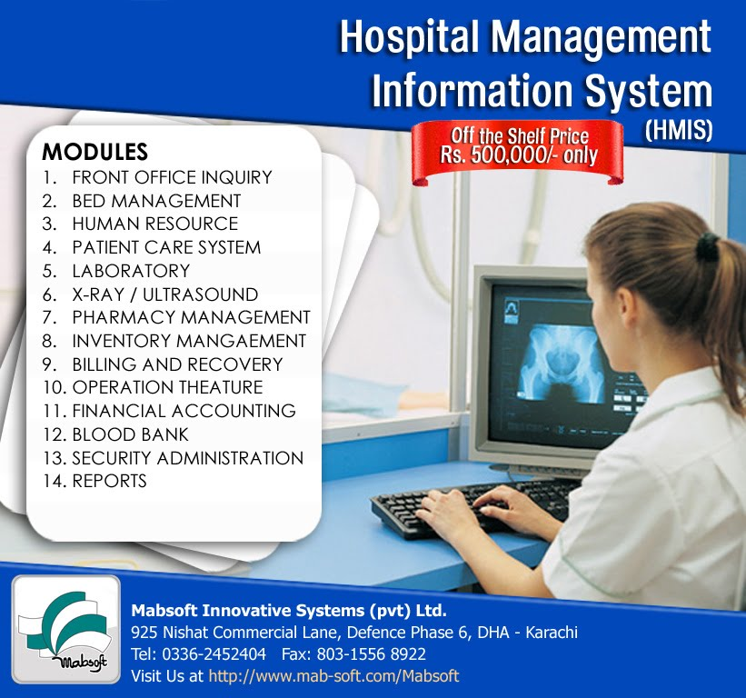 Kamran's Portfolio: Hospital Management & Information ...