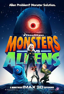 Monsters vs Aliens a film by Dreamworks