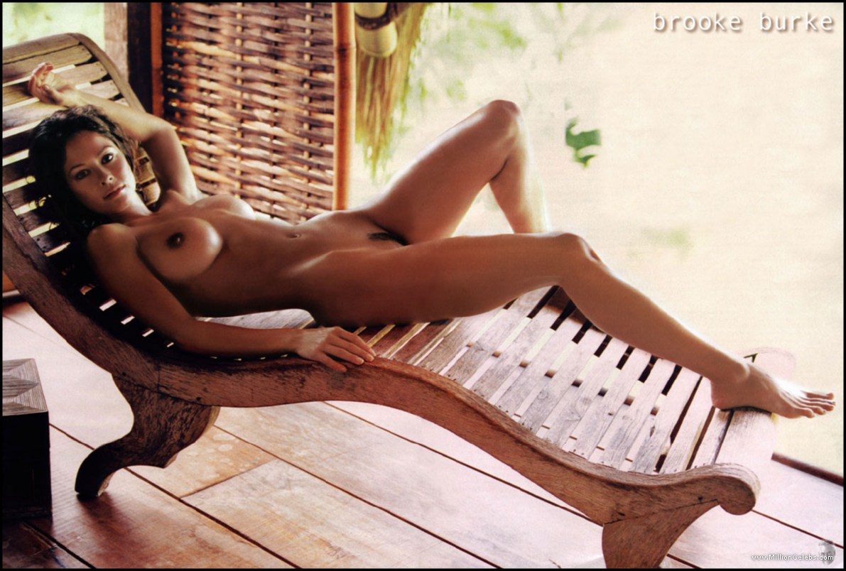 nude hot Brooke burke