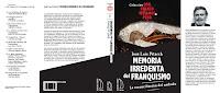 'Memoria irredenta del franquismo. La reconciliación del embudo' de José Luís Pitarch