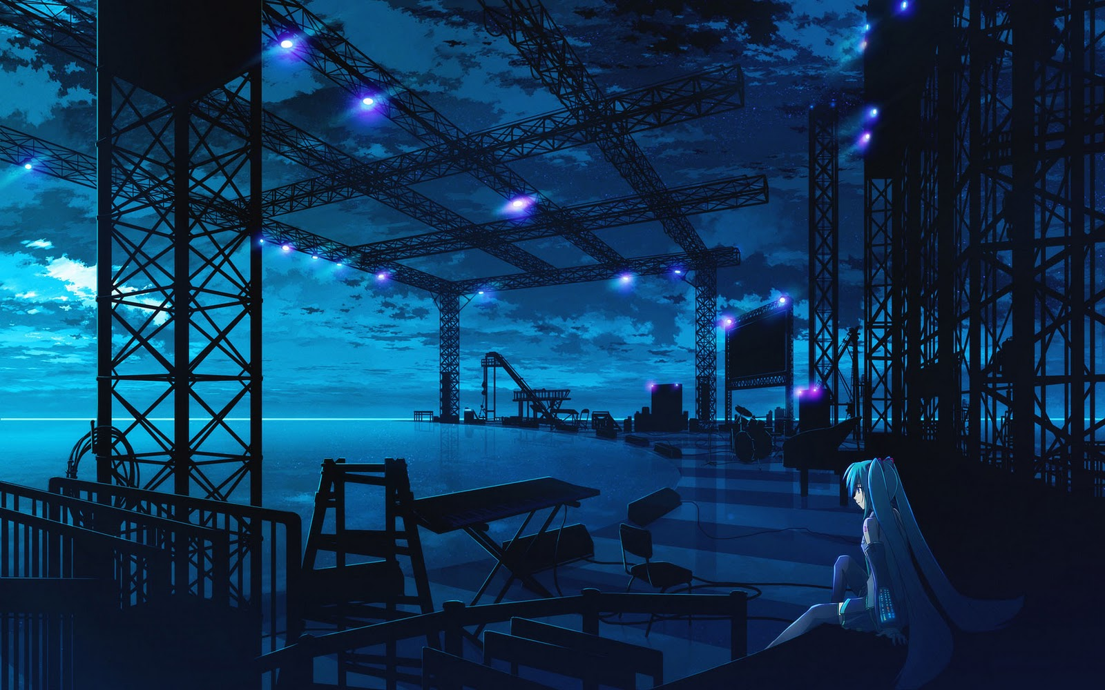 anime landscape hatsune miku - photo #8