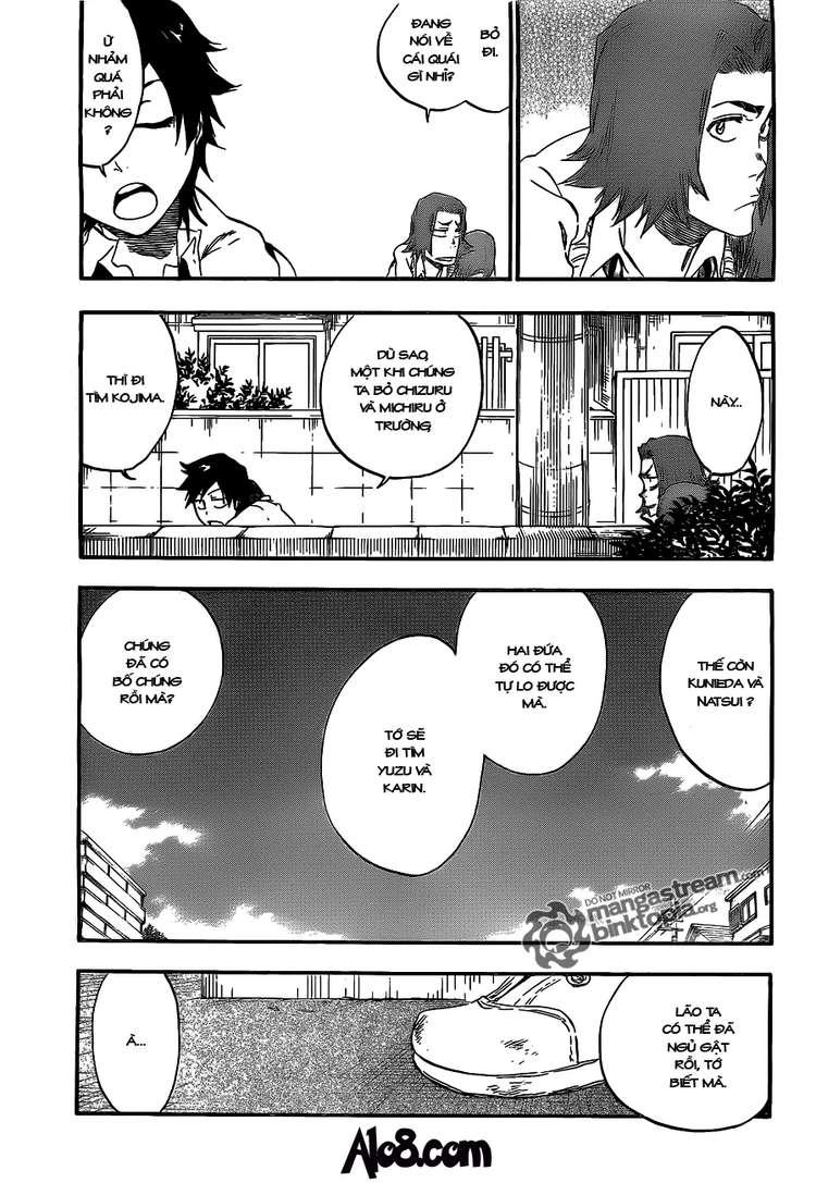 Bleach chapter 410 trang 13