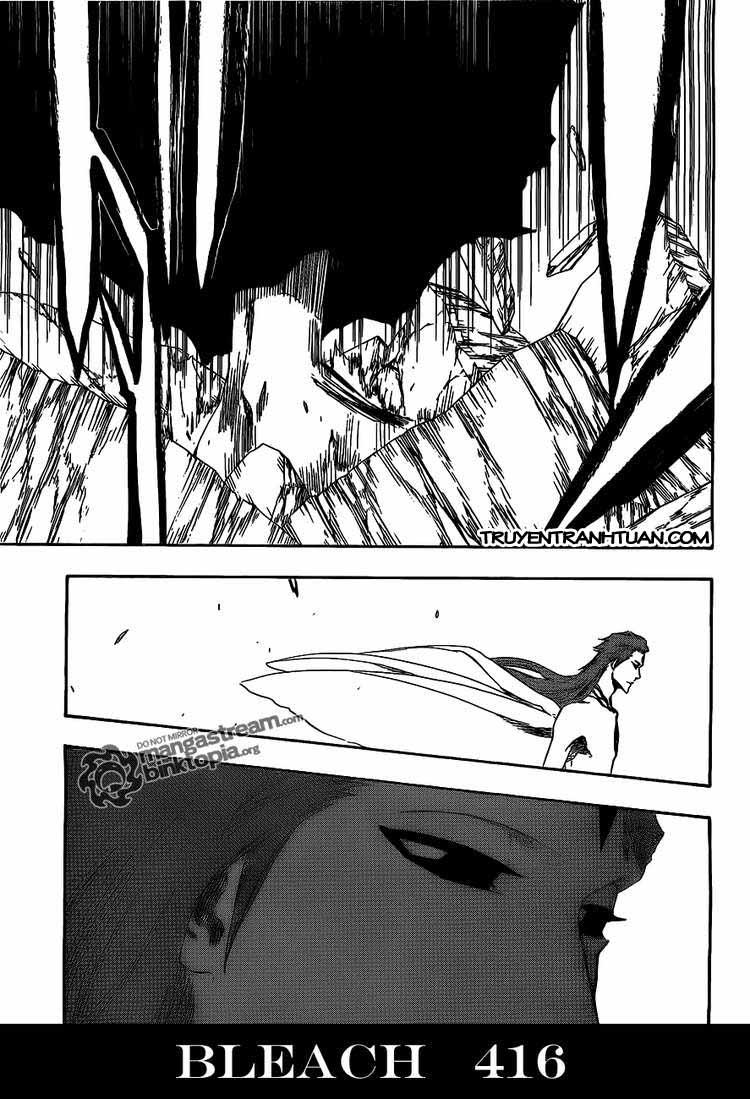 Bleach chapter 416 trang 16
