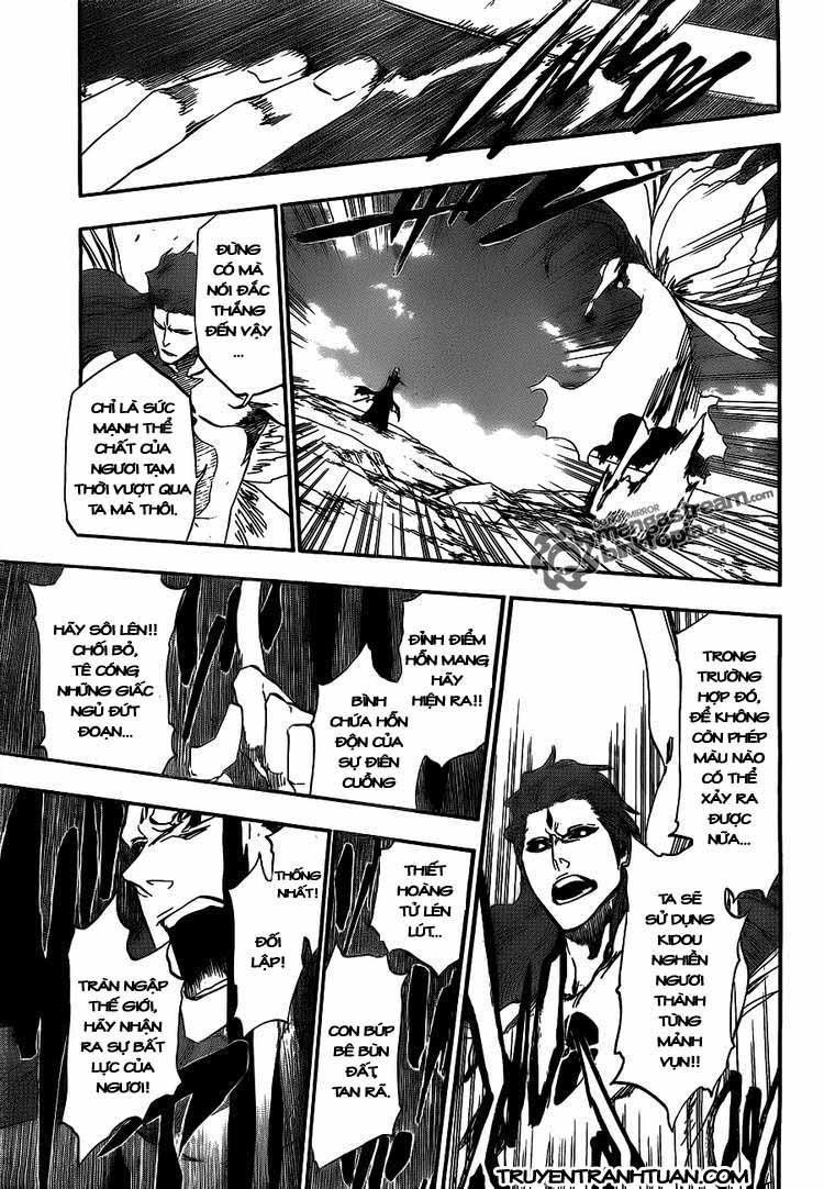 Bleach chapter 418 trang 15