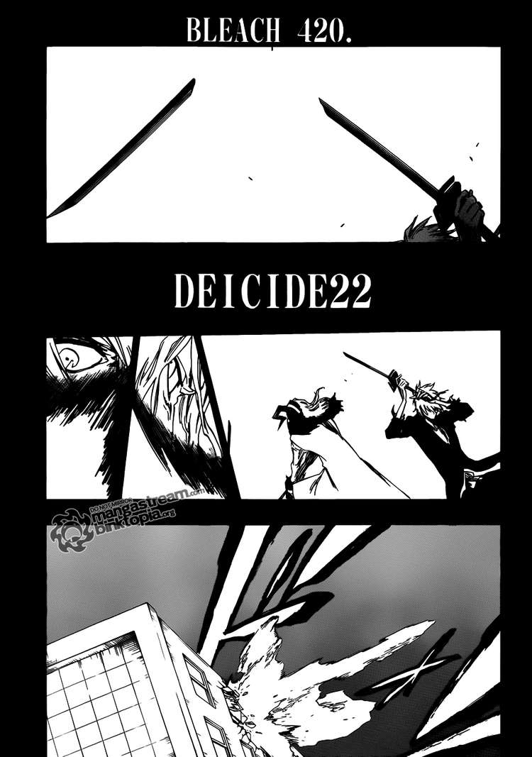 Bleach chapter 420 trang 3