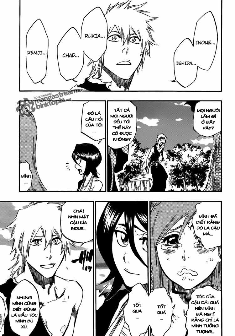 Bleach chapter 422 trang 17