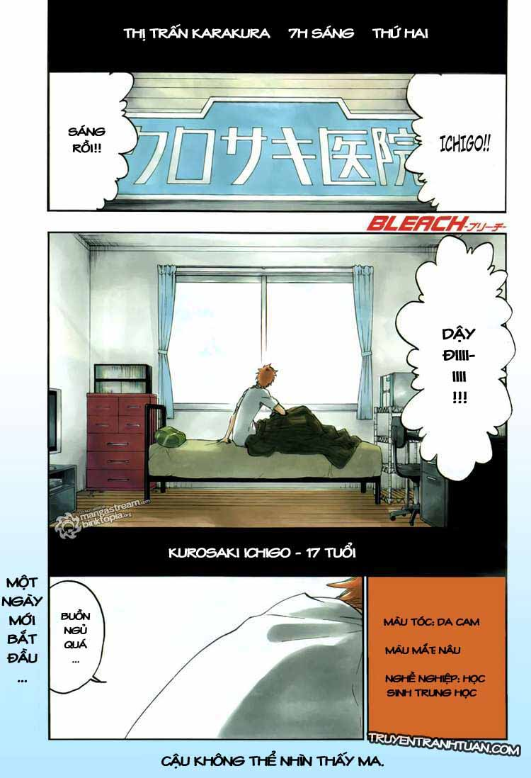 Bleach chapter 424 trang 2