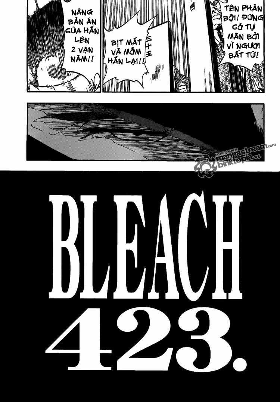 Bleach chapter 423 trang 3