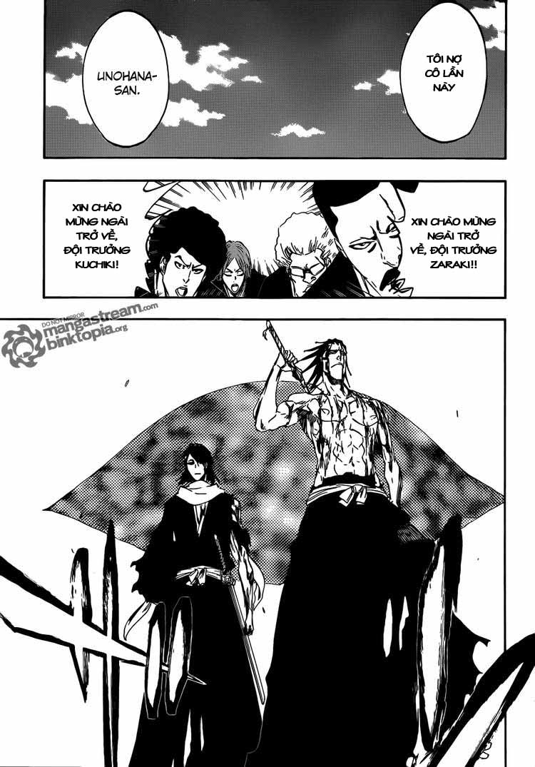 Bleach chapter 422 trang 5