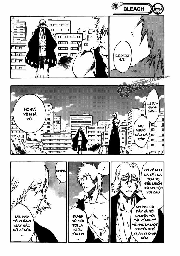Bleach chapter 422 trang 10