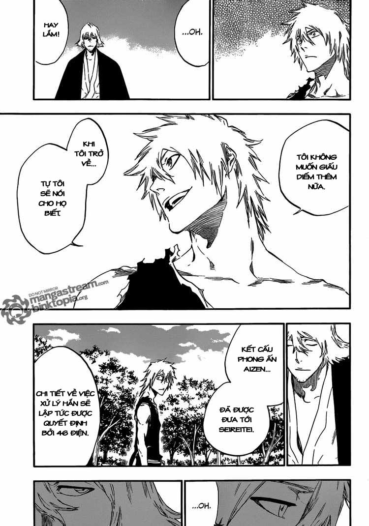 Bleach chapter 422 trang 11