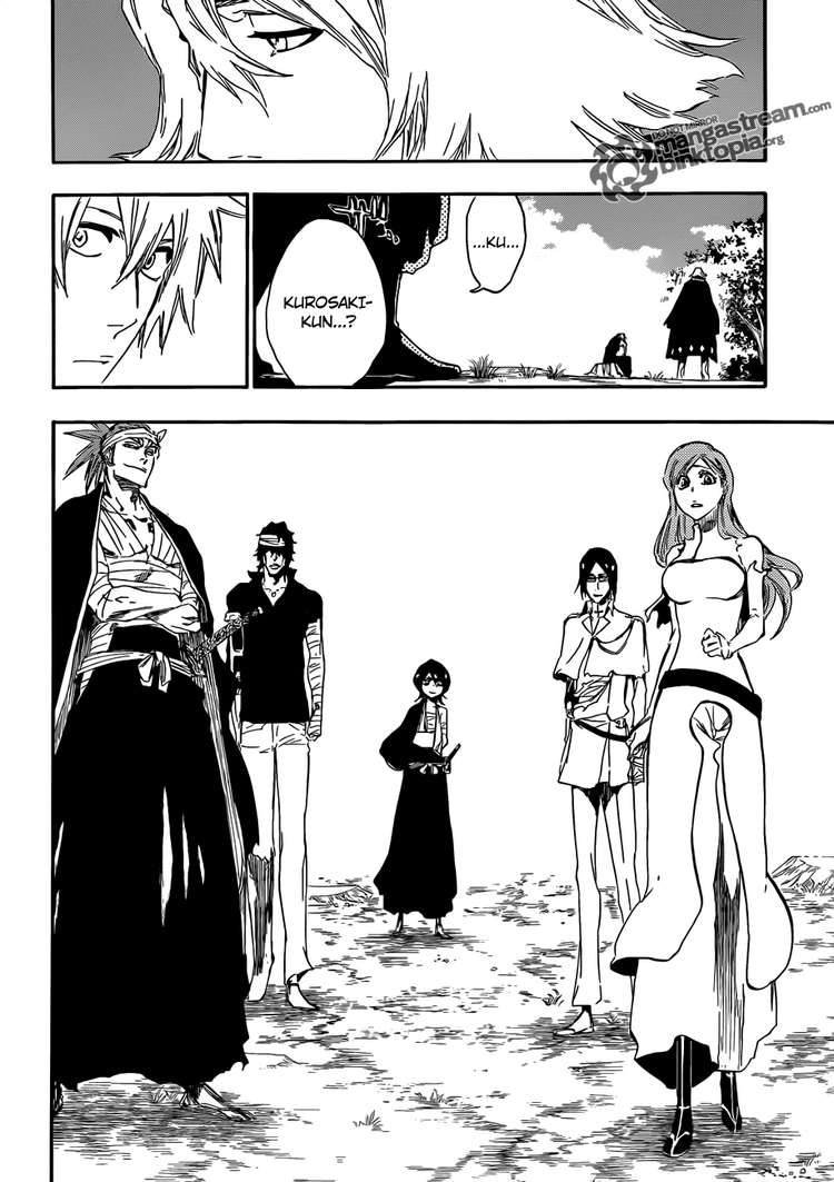 Bleach chapter 422 trang 16