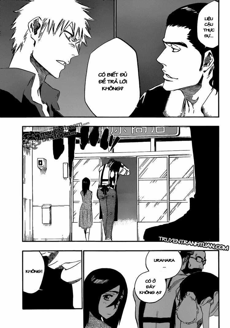 Bleach chapter 427 trang 17