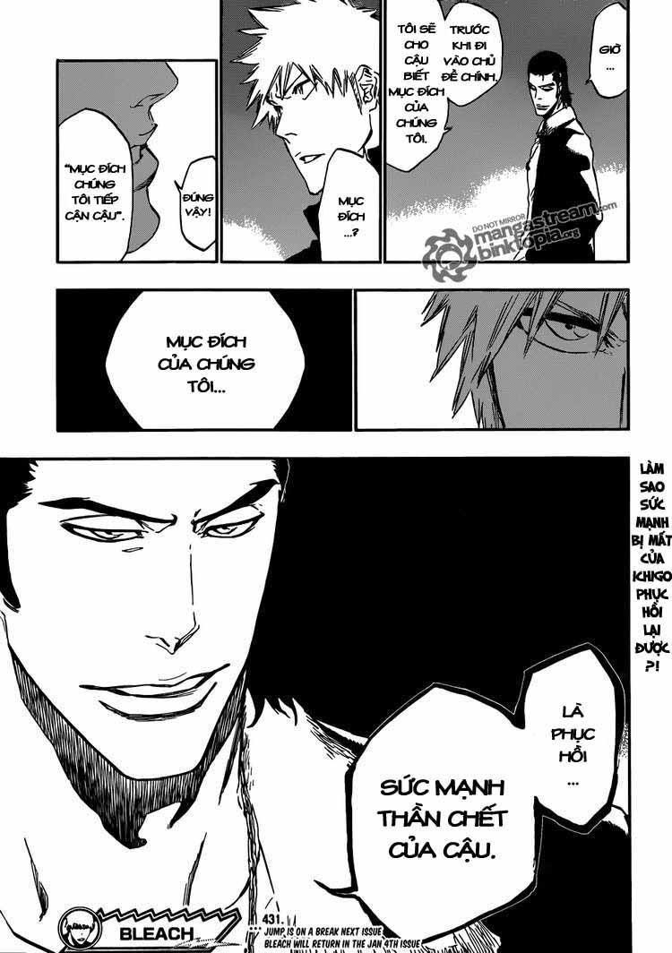 Bleach chapter 431 trang 18