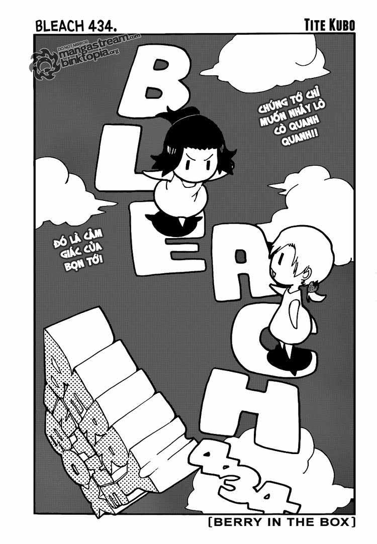 Bleach chapter 434 trang 5