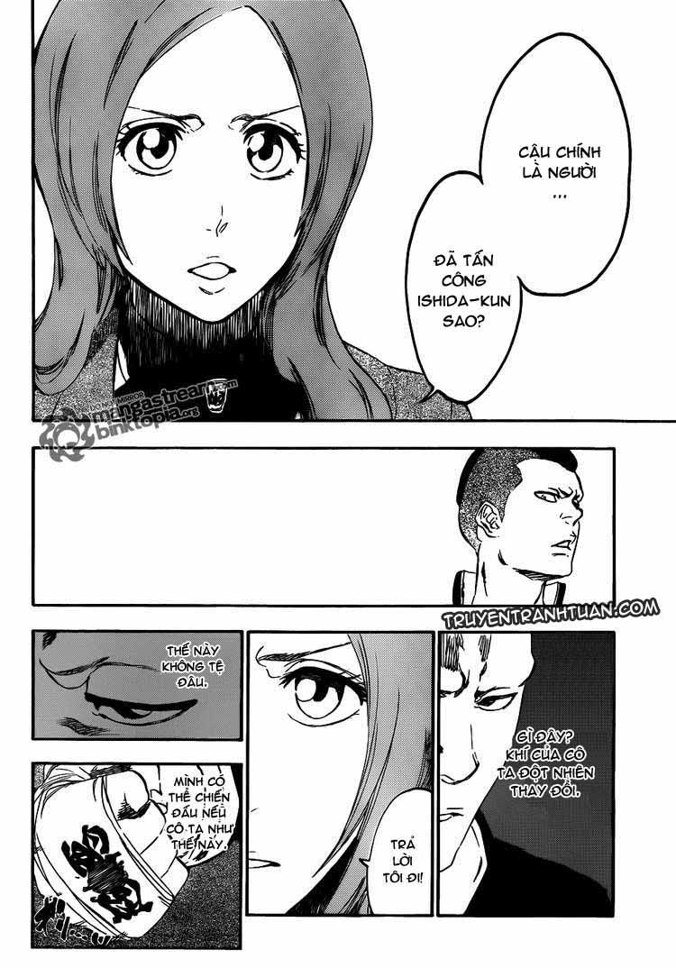 Bleach chapter 438 trang 16