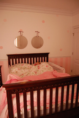 Here Is A Pic Of My DD (dear Daughter) In Her Big Girl Bed That Once Was A  Crib.