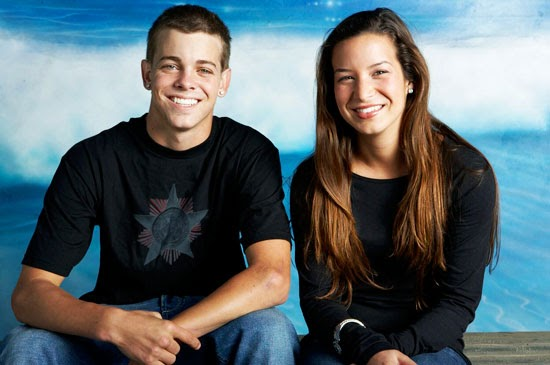 Ryan Sheckler And Girlfriend Kissing