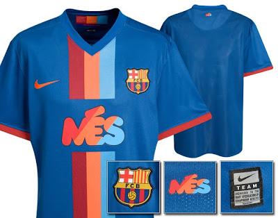 41020e24f The FC Barcelona shirts of the