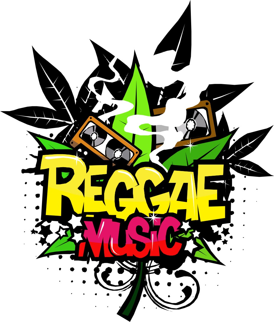 Reggae Vector | Corel Draw Tutorial and Free Vectors