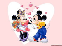 Mickey And Minnie Valentine Cards