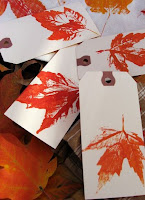 Thanksgiving Tree Leaves Cards
