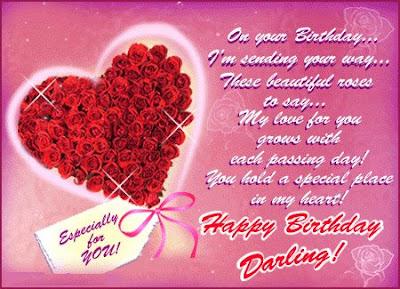 Birthday Postcards On Greeting Cards Love Ecards