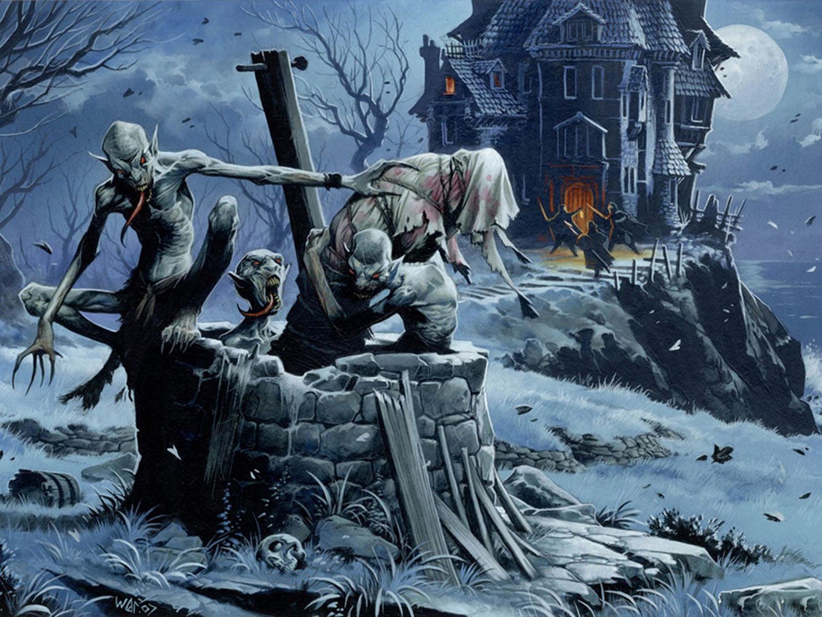 halloween devil night wallpapers - photo #1