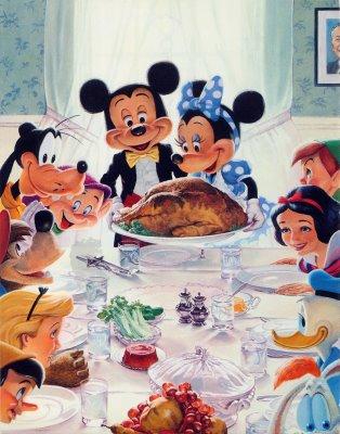 Thanksgiving Cards: Disney Thanksgiving Cards, Walt Disney ...