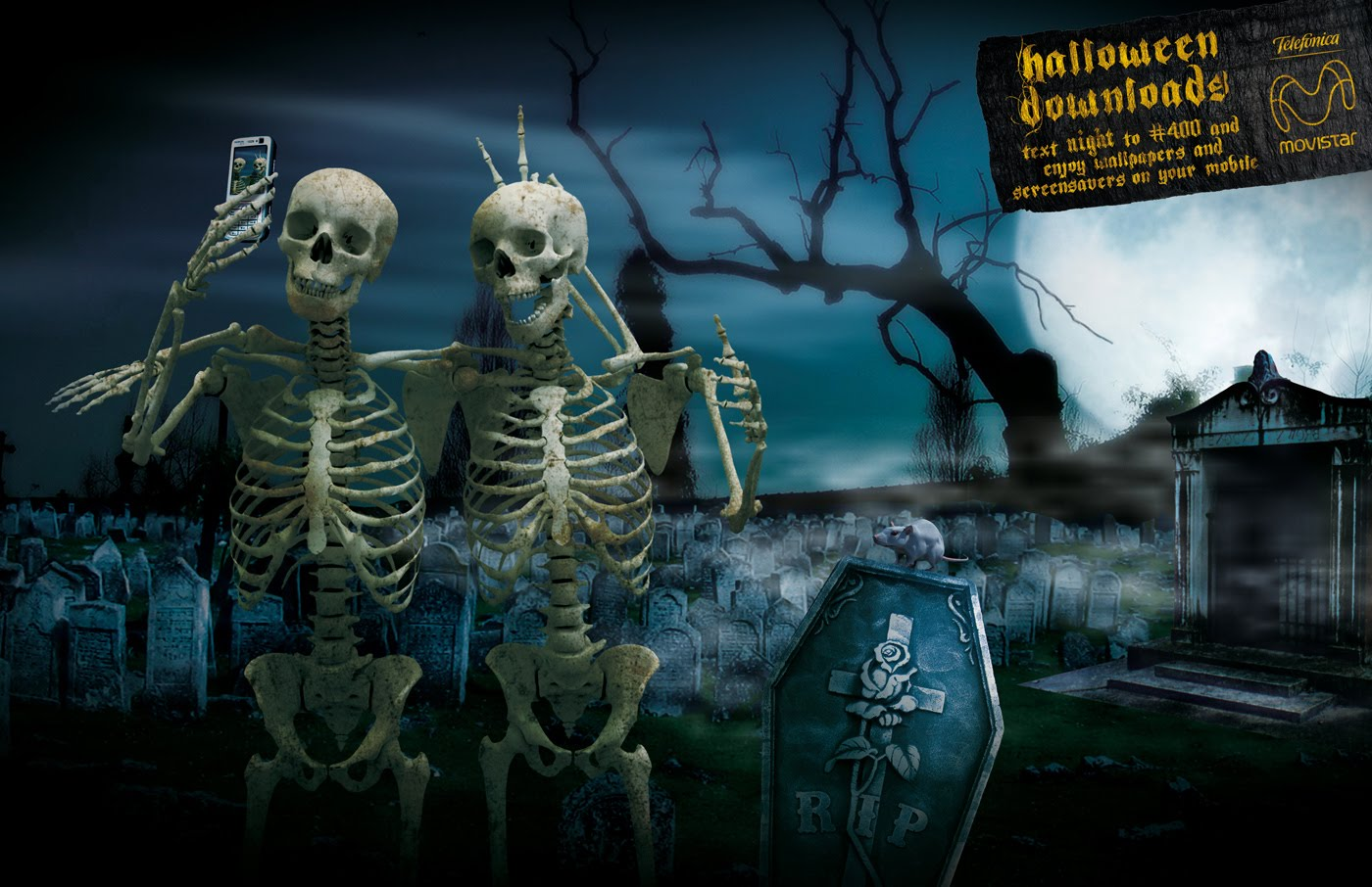 Free Halloween Wallpapers - mmw blog: Halloween Dancing