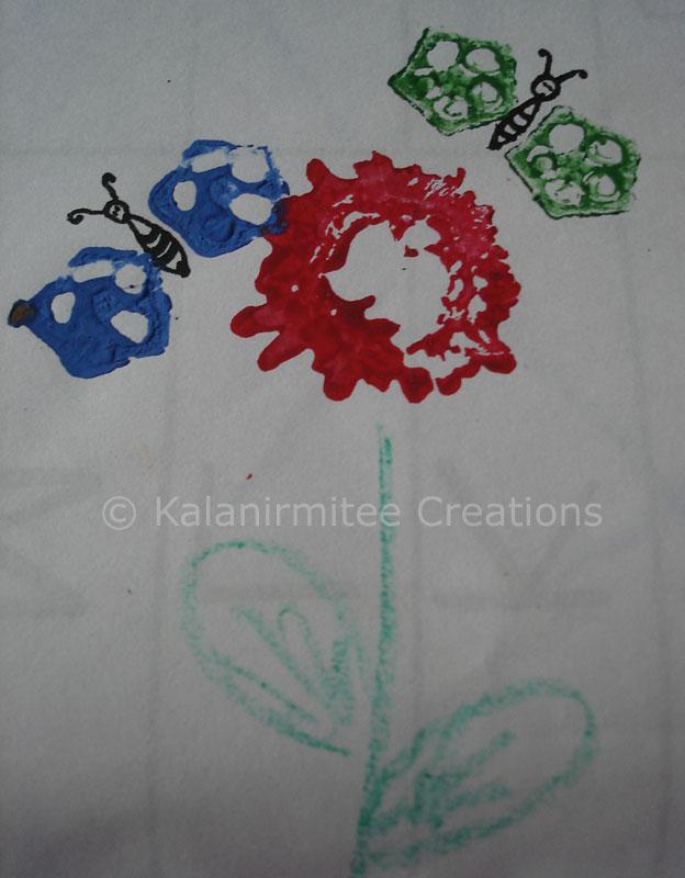 Craft Ideas For Kids Vegetable Print Kalanirmitee Creations