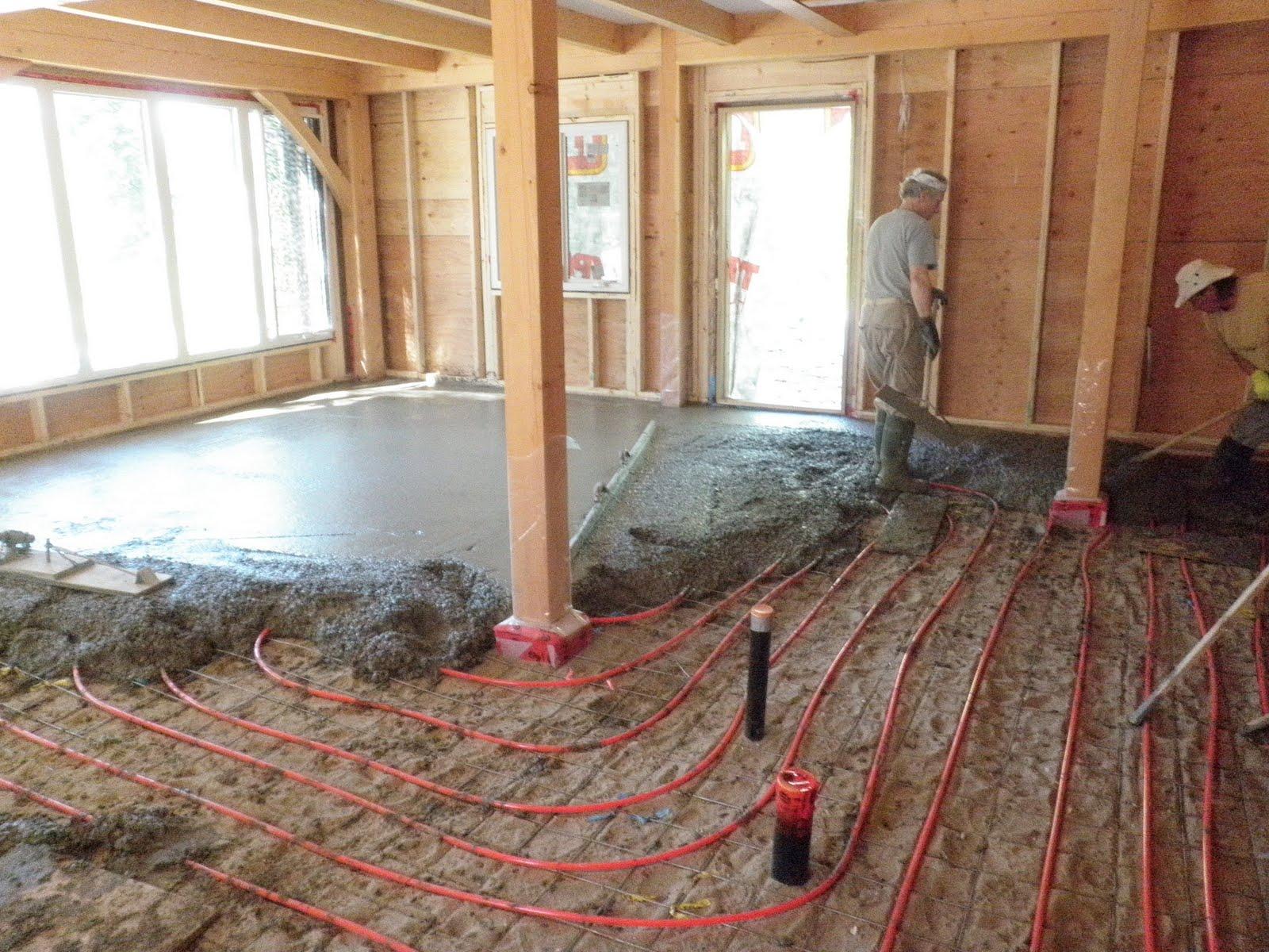 Kootenay House Radiant Floor Heating