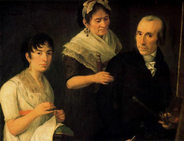 Francisco Lacoma Sans, Self Portrait, Portraits of Painters, Fine arts, Francisco Lacoma