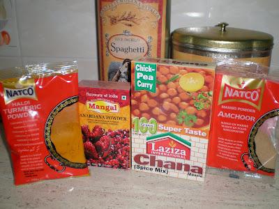 PINDI CHANA curry de garbanzos receta gastronomia india legumbres cocina vegetariana vegana