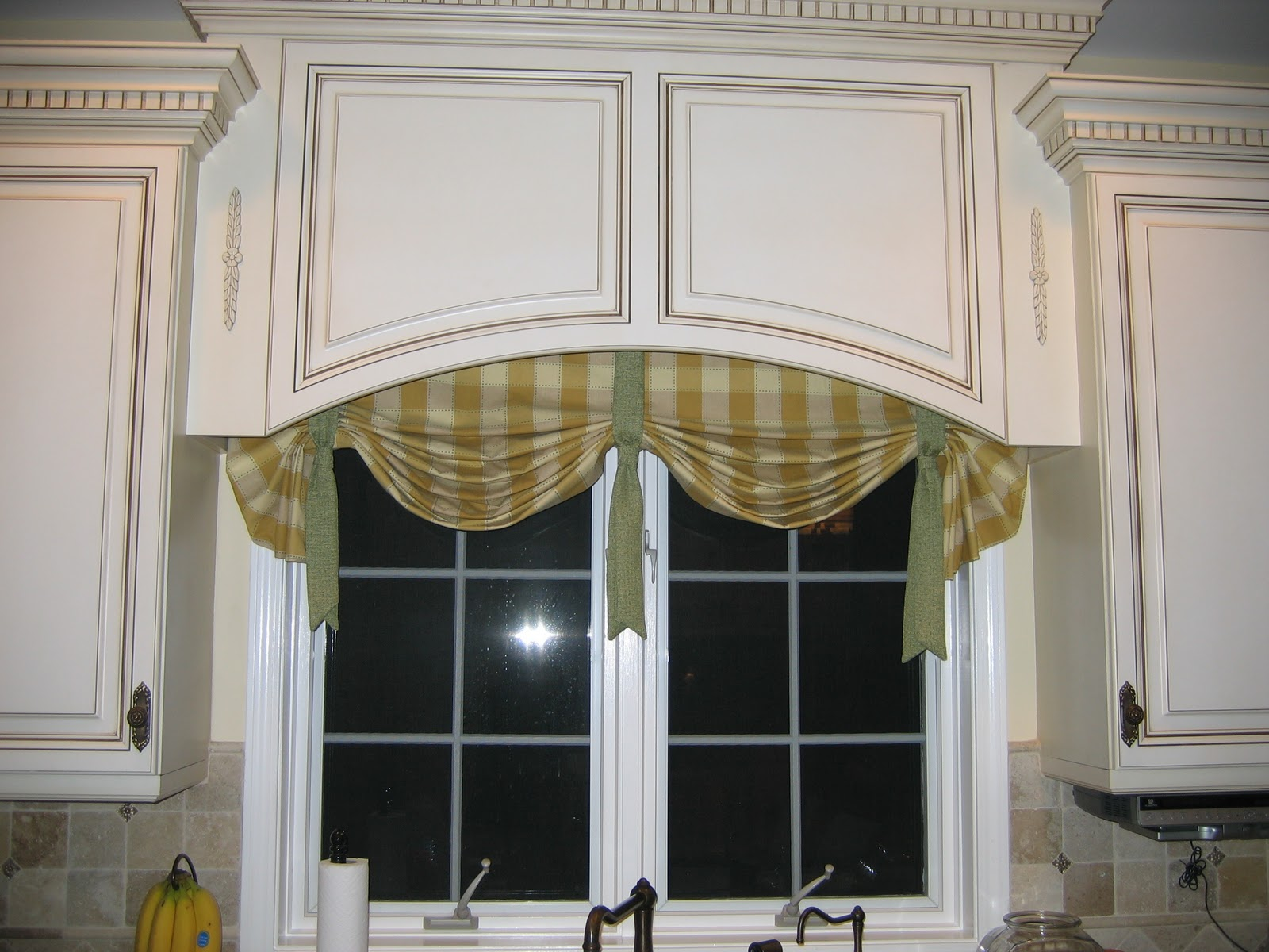 Kitchen Valances For Windows Black Trash Bags Diy By Design Before And After Repost