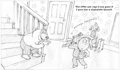 An Artist's Life For Me!: Drawing a Picture Book: Bribery