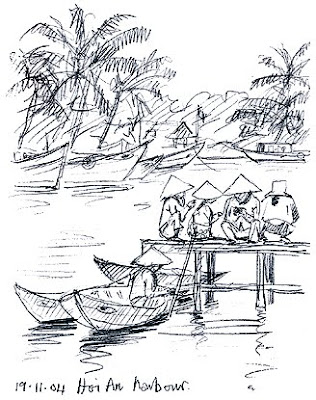 Picture Gallery: Using a Sketchbook: Drawing in Vietnam