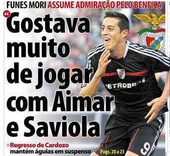 Os junta-letras portugueses de tanta ânsia em escrever sobre o Benfica  deixam-se por vezes toldar pelo apagamento de ideias 90987b1915ce6