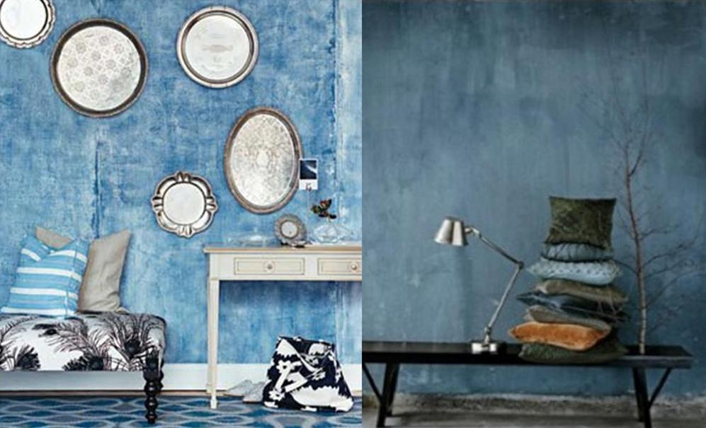 she moves the furniture: Denim Blues