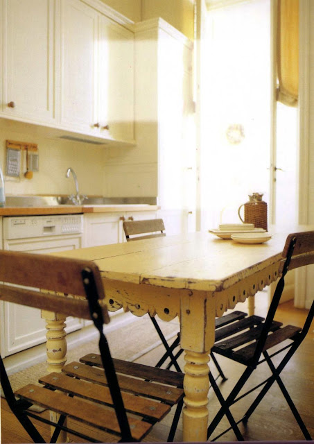 Timber dining table and - Indoor Bench Table For Kitchen