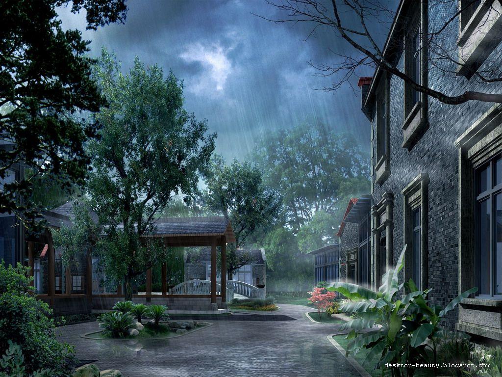 How would i start a descriptive essay if i was describing rain?
