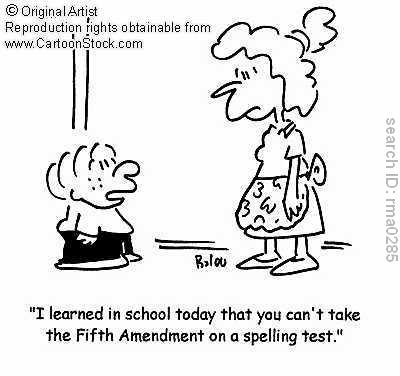 constitutional blog 5th amendment artwork