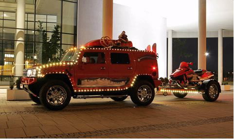 Discount Auto Parts   Online Auto Parts and Accessories: Christmas Cars Amazing Decoration