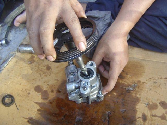Tacra S Diy Garage Power Steering Pump Repair