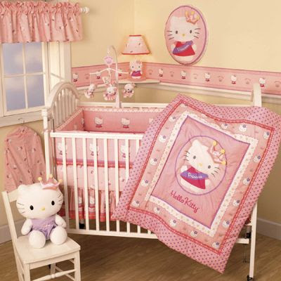 Little Seouls Blog: Hello Kitty Nursery Bedding