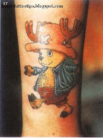 Cartoon Tattoo Gallery