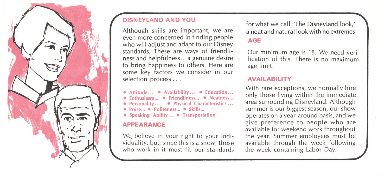 Vintage Disneyland Tickets: Casting for a role in our Disneyland