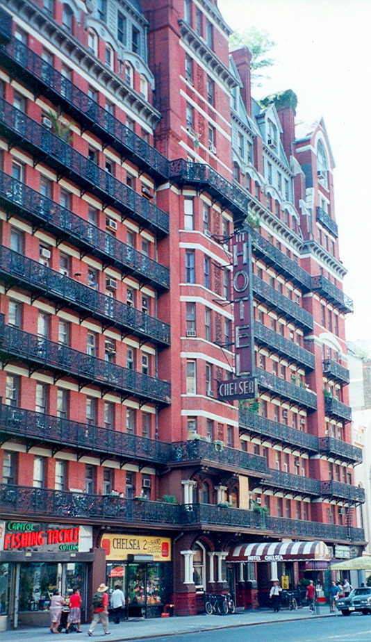 Daytonian in Manhattan The 1883 Chelsea Hotel