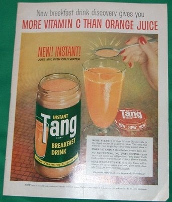 The Holiday HoHo Queen: Tang ~ Drink of the Astronauts ...
